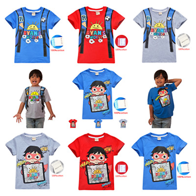 New Prestonplayz T-shirt Children Kids Boys Girls Summer Cotton Tee Tops Gift Other