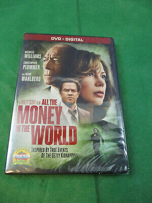 All The Money In The World (DVD, 2017) NEW