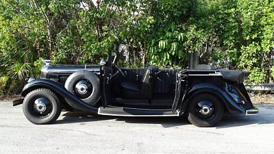 1935 Lincoln Town Car  1935 LINCOLN K EDITION RARE FIND PREVIOUS MOVIE  AND MUSEUM HISTORY IMPRESSIVE