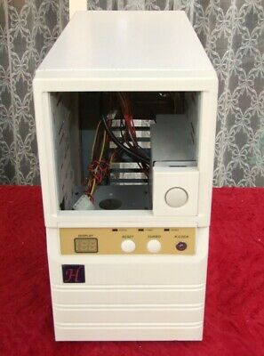 Vintage Mini tower AT computer case from the 1990s for 286 386 486 early Pentium