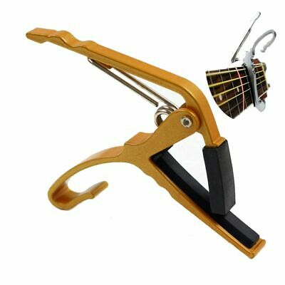 Accessories Tune Quick Change Key Acoustic Electric Guitar Capo Clamp Trigger