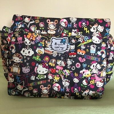 NWT Jujube Tokidoki Hello Kitty Better Be Dream World Diaper Messenger Bag