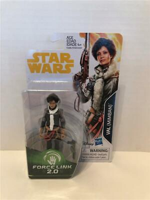 """STAR WARS Force Link 2.0 VAL (MIMBAN) 3.75"""" figure SOLO a star wars story HASBRO"""