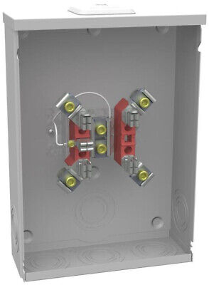 MILBANK 400 AMP 4 Terminal Ring-Type Link Bypass Overhead