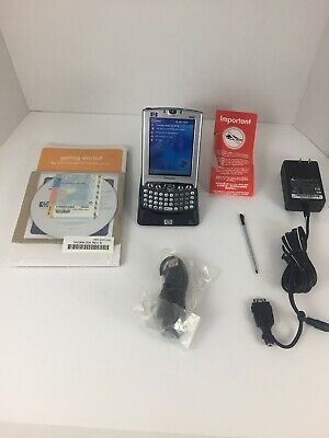 HP iPAQ H4350 Pocket PC (H4300 Series) Minty Complete w/accessories Read PDA
