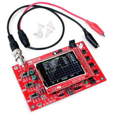 Fully Welded 1Msps Assembled DSO138 DIY Digital Oscilloscope Production Kit Hot