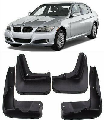 Genuine OEM Splash Guards Mud Guard Flaps FOR 2008-2011 BMW 3 Series E90 Sedan