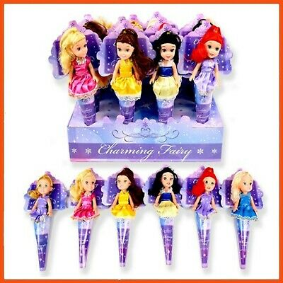12 x CHARMING FAIRY TALE DOLLS | Cinderella Belle Snow White The Little Mermaid