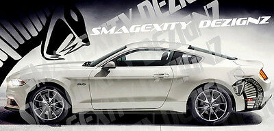 COBRA Tribal Decal Graphics Vinyl Racing Stripes Mustang GT 5.0 Shelby 2015-2019