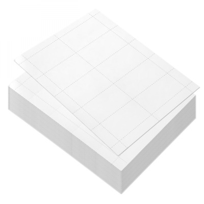 100 Sheets-Blank Business Card Paper - 1000 Stock for Inkjet and