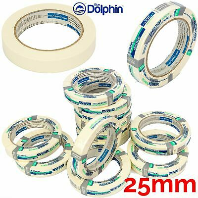 Professional Masking Tape Clean Peel UV Resistant Long Last 25mm x50m