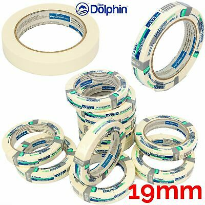 Professional Masking Tape Clean Peel UV Resistant Long Last 19mm x50m