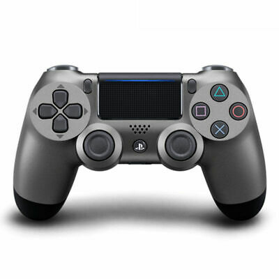 Dualshock PS4 Acciaio Controller Wireless Gamepad Sony Playstation4 GiocoConsole