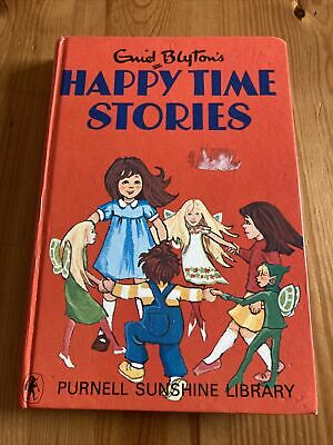 Happy Time Stories Enid Blyton Hardback 1970 Good Condition Classic Fiction