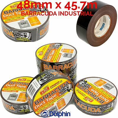 Super Strong Industrial Purpouse Duct Tape UV Resistant 48mm x45.7m 275my thick