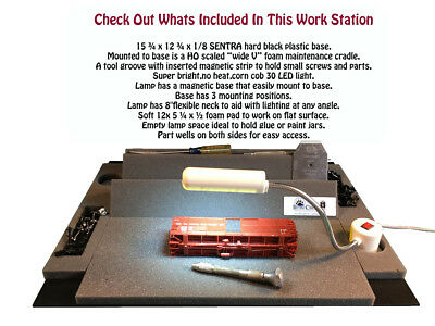 Work Station with HO Foam Cradle_eb