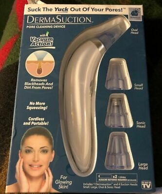 Original Derma Suction DermaSuction Blackhead Remover-Official BulbHead Product