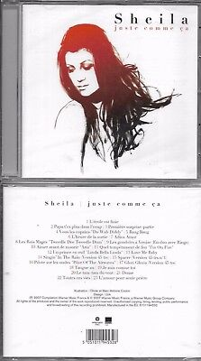 Cd 23 Titres Sheila Juste Comme Ca Best Of 2007 Neuf Scelle