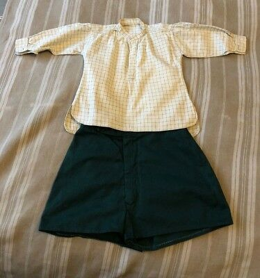 Vintage 1950s 1960s Boys Outfit Shorts & Shirt