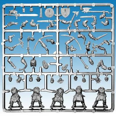 Frostgrave Soldiers Sprue - 5 Plastic Multi Part Figures - 28Mm - First Clas
