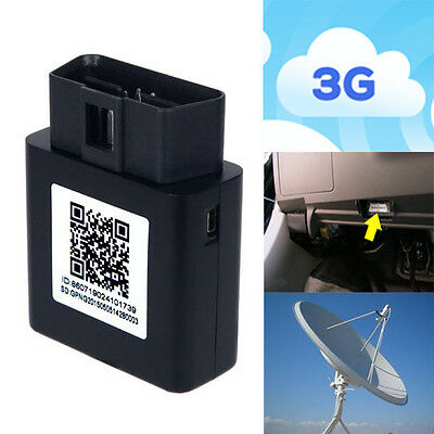 3G GPS Tracker OBD - No Wiring Required - Real Live Tracking Device Vehicle Car