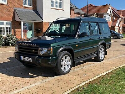 Land Rover Discovery 2 TD5 ES Leather Mot March 2020 Auto 130k DVD 7 seats