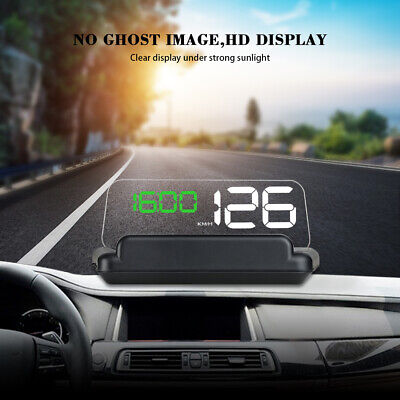 C500 OBD2 HUD Head-Up Display with Mirror Digital Car Speed Projector Displayer