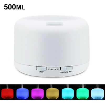 LED Air Aromatherapy Purifier Diffuser Aroma Essential Oil Humidifier Ultrasonic