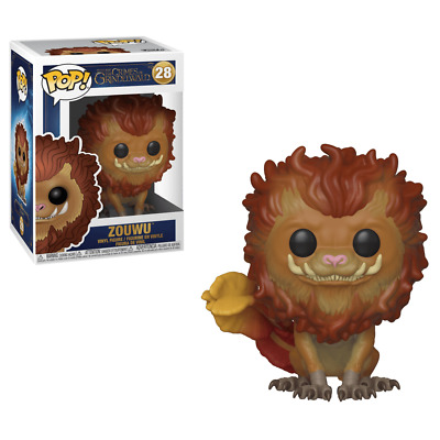 "Fantastic Beasts Zouwu 3.75"" Pop Vinyl Figure Funko 28 Uk Seller"