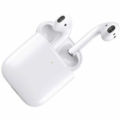 BRAND NEW GENUINE & SEALED Apple AirPods 2nd Generation & Wireless Charging Case