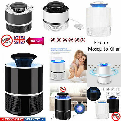 Electronic UV Mosquito Killer Lamp Non-radiation Fly Insect Bug Catcher Trap