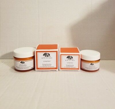 ORIGINS GinZing Energy-Boosting Moisturizer New in Box. Select Your Size
