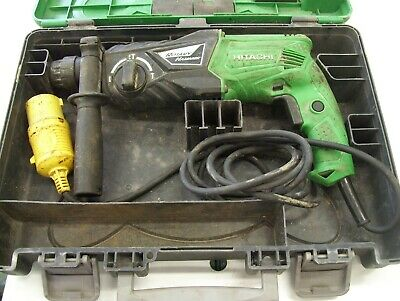 Hitachi DH24PX SDS Hammer Drill 110V  Features:  SDS-Plus rotary hammer