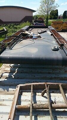 18 foot x 5ft 3 inch hydraulic drive belt conveyor