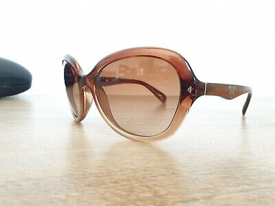 Italy Brown In Made Prada Foldable Sunglasses And Gold Color sthQrd