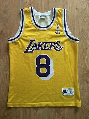 5a9ae64825f VINTAGE LARGE LOS Angeles Lakers 2001 Back To Back Champion Shirt ...