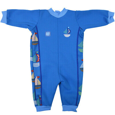 Splash About Warm In One Baby Wetsuit - Set Sail 0-3 m - Photography Sample