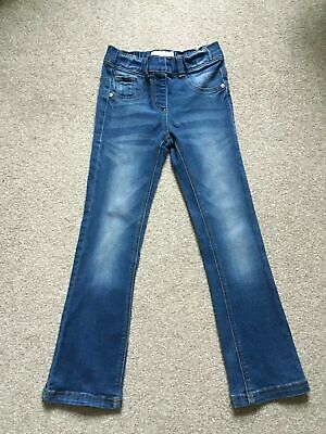 Next Girls Blue Jeggings Jeans Age 8 Years