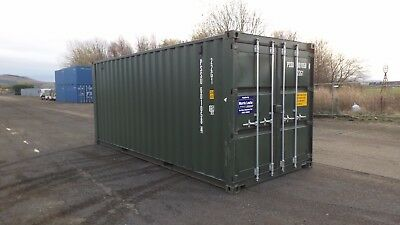 20FT New Build D/Door Container Available in Blue (RAL5010) Green (RAL6007)