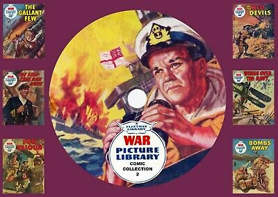 War Picture Library Comic Collection 2 On DVD Rom