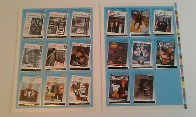 Strictly Ink 2000 full set of 17 radio times Chase Cards uncut