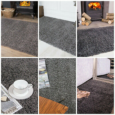 Cheap Sale Price Fireplace Shaggy Grey Soft Furry Warm Bedroom Living Room Rug