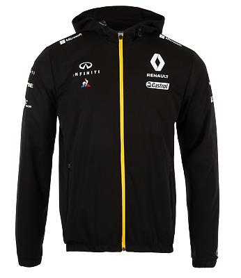 Genuine Renault Formula 1 Rain Jacket 2019 F1 (Black)