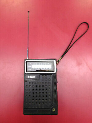 VINTAGE SEARS SOLID STATE RADIO model 293.84150500