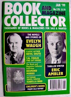 BOOK & MAGAZINE COLLECTOR Jan 1999 178 Waugh Ambler Isabella Bird Shute Foulis