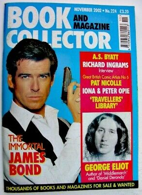 BOOK & MAGAZINE COLLECTOR Nov 2002 No 224 James Bond Richard Ingram George Eliot