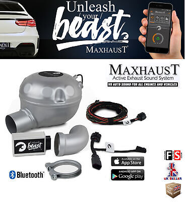 MAXHAUST ACTIVE SOUND Booster V8 Simulation Sound Option
