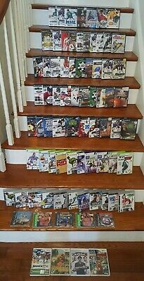Huge Lot Of 77 Video Games!! Nintendo Wii  Xbox 360 Playstation PS2 PS3
