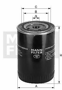 Filtro olio MANN-FILTER W11502 FIAT NEW HOLLAND