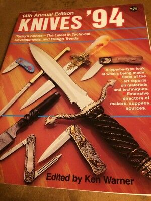 KNIVES  ' 94  14 Th  Annual DBI  Publications  Knife Collectors BOOK 1994